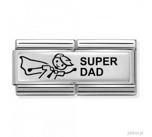 Nomination Element Link Double Rodzina Family Dad Tata