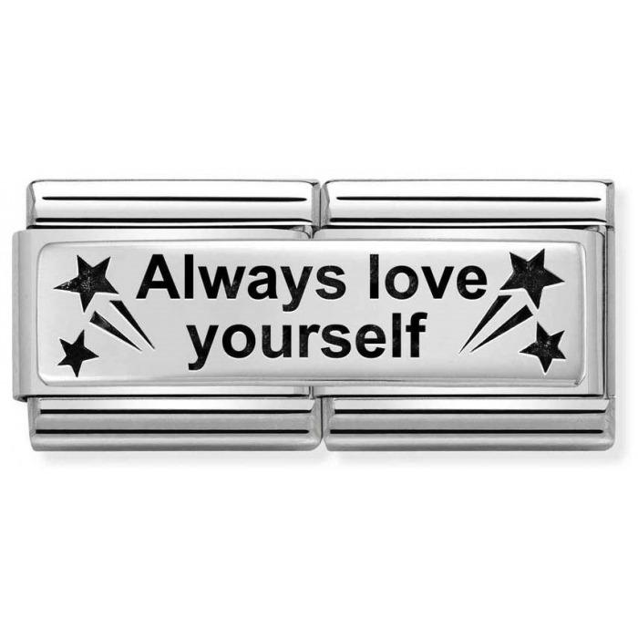 Nomination Element Link Double Always Love Yourself Kochaj Siebie